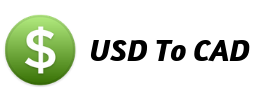 USD to CAD Currency Calculator